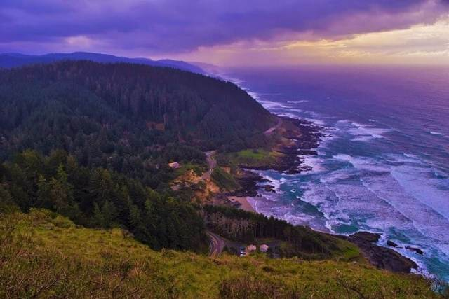 Cape Perpetua after a storm, Siuslaw National Forest