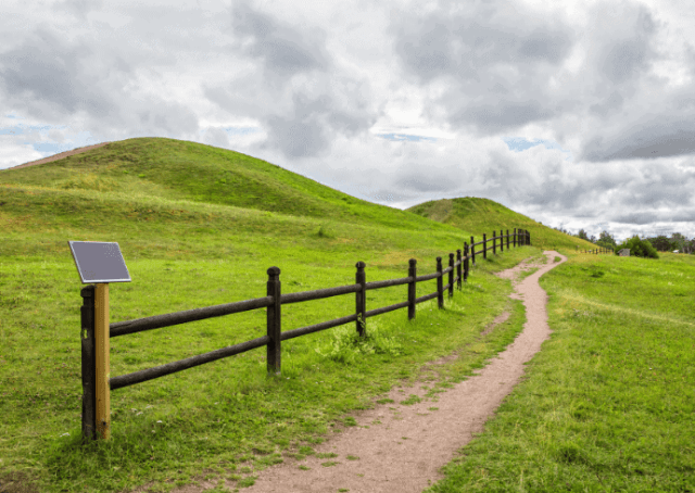 Norse God Burial Mounds