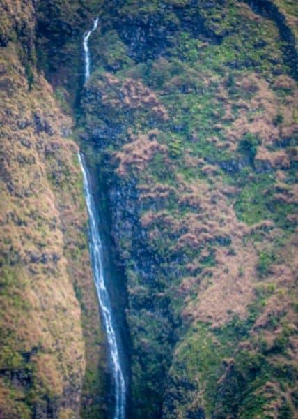 Hanakoa Falls in Kauai, Hawaii