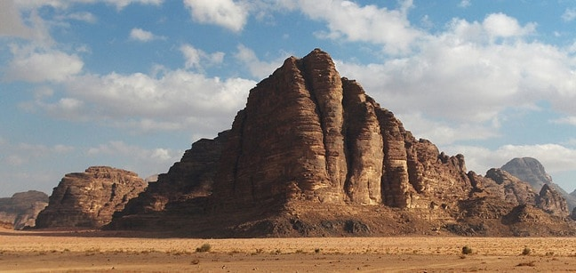 Seven Pillars, Jordan Photo by Tomobe03