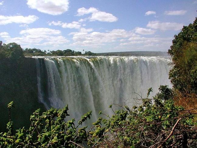 Victoria Falls Zimbabwe best waterfall in the world
