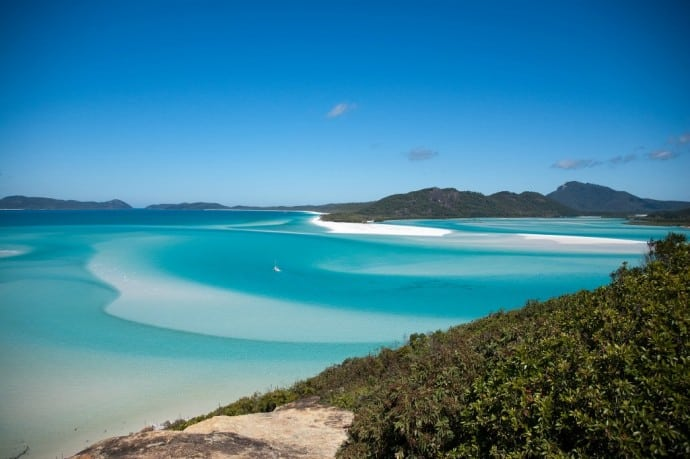 Whitsunday Islands National Park one of 10 Great Australian National Parks for Your World Travel Bucket List