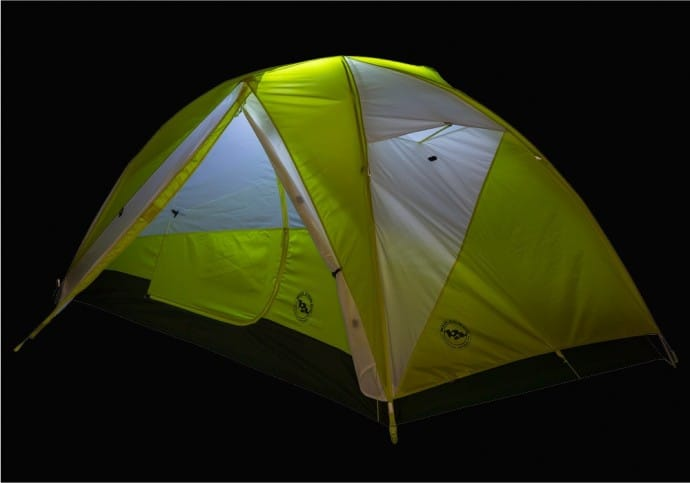 Best Gifts for Travelers Big Agnes Tumble2 MtnGLO Tent