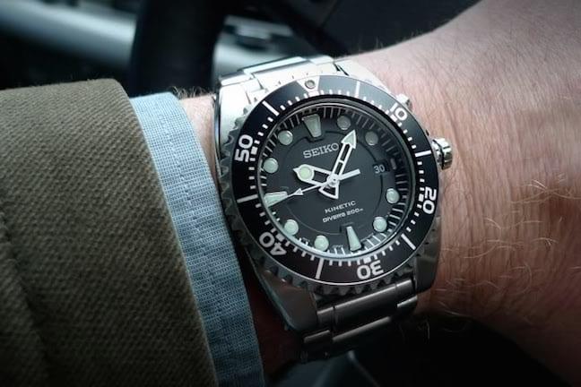 Seiko's Kinetic Dive Watch