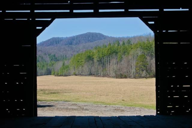 Barn in Cataloochee Valley, Great Smoky Mountains National Park