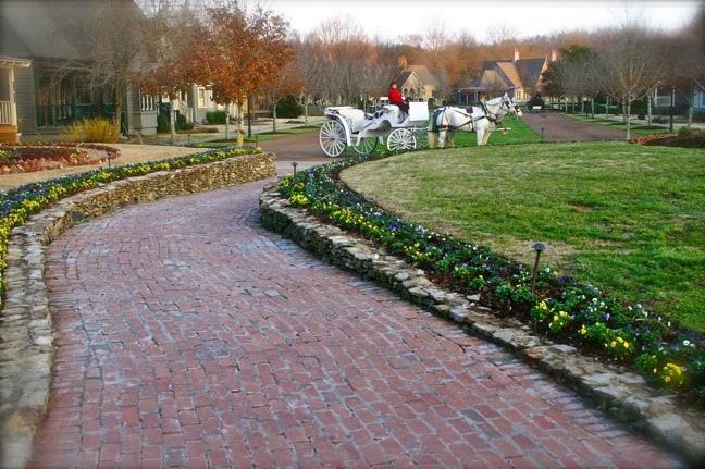Horse-Drawn Carriage at Barnsley Gardens Resort