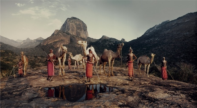 Samburu Tribe in Kenya, photographed by Jimmy Nelson in Before They Pass Away