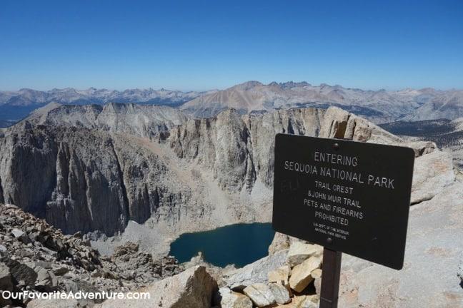 The John Muir Trail -Sequoia National Park