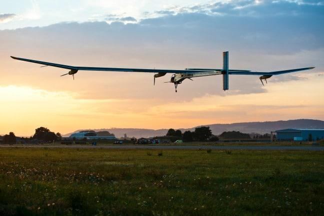 Solar Impulse solar plane