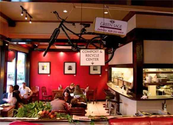 The Green Sage Cafe, Asheville's Green Restaurants Scene