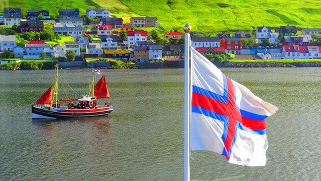 Traditional Faroe Islands Boats, by Mike Jerrard