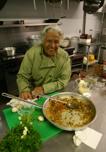 Treme New Orleans: Chef Leah Chase in the kitchen