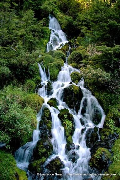 Waterfall Next to Waitonga, New Zealand
