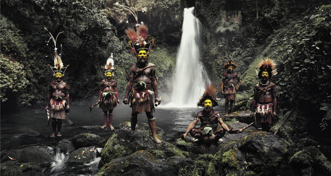 The Huli People of Papua New Guinea, photographed by Jimmy Nelson in Before They Pass Away
