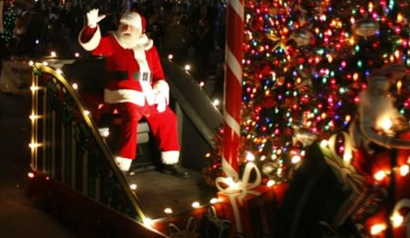 Stone Mountain Christmas Parade Santa