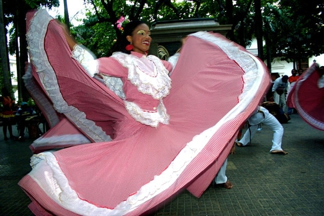 Mapalé Dancers in Cartagena, Colombia