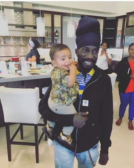 Sizzla and Young Asahd