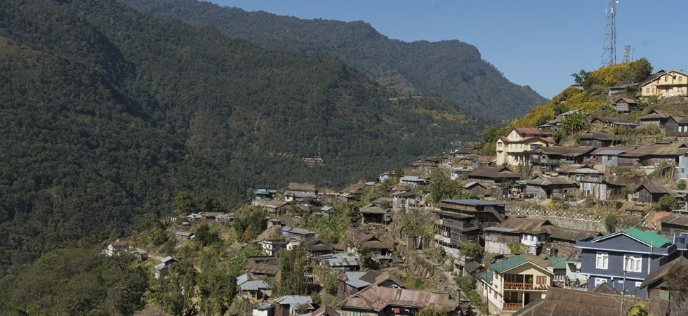 Khonoma village in the Indian state of Nagaland