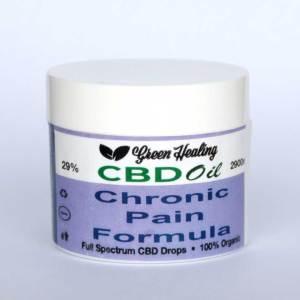 CBD Oil Chronic Pain Formula   Green Healing