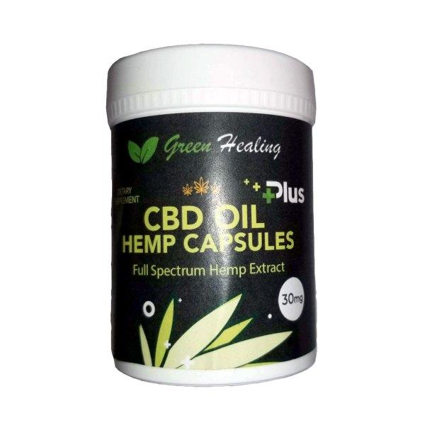 CBD Oil Hemp Capsules | Green Healing