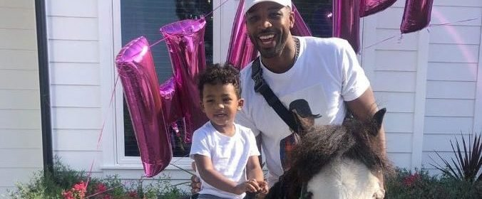 Doting Dad! Tristan Thompson Spends Quality Time With Son ...