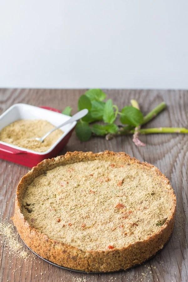 Flourless Vegan Vegetable Quiche 2