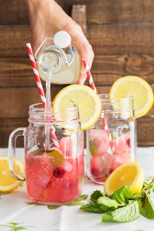 Pink Mint Lemonade 2