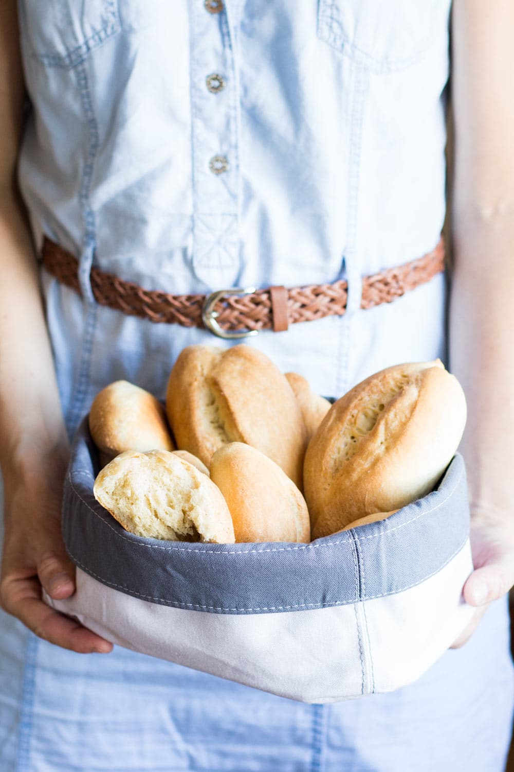 Mexican Dinner Rolls Bolillos Green Healthy Cooking