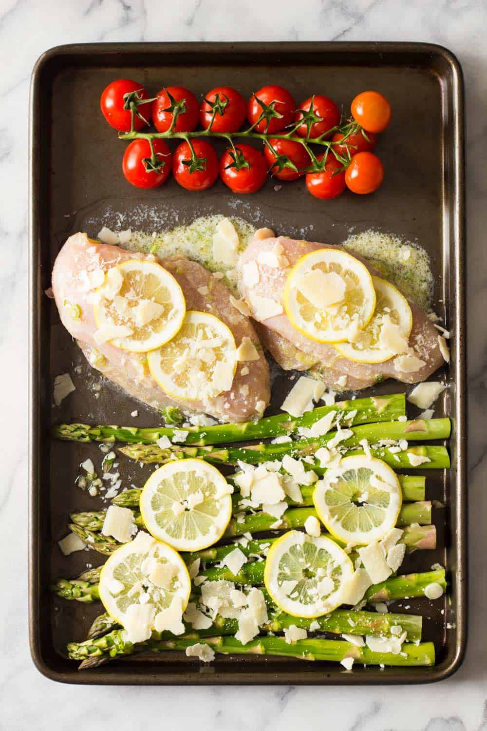 Everybody needs a favorite easy chicken and asparagus recipe, right? How about this 15-minute prep Lemon Chicken Asparagus? Try it! You'll love it!!