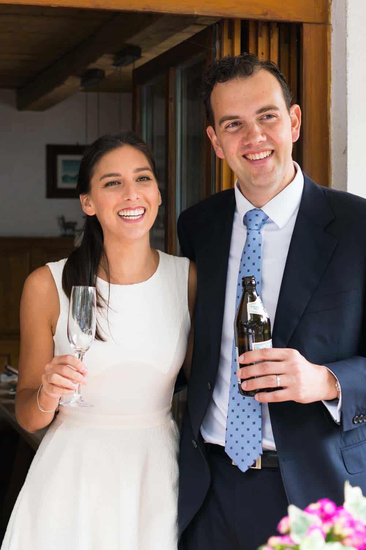 My sister's civil wedding: Valentina & Andrew