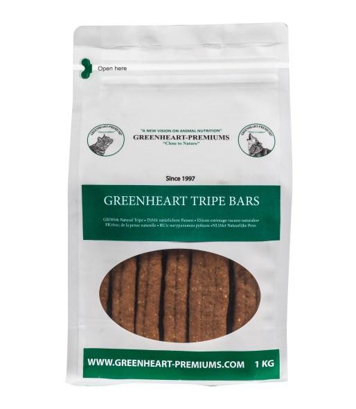 Greenheart Tripe Bars 1 kg