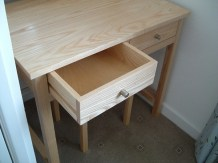 Solid ash drawers