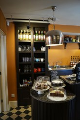 Bosvena Cafe counter display