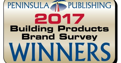 2017 Building Materials Brand Preference Survey Winners