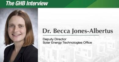 The GHB Interview: Dr. Becca Jones-Albertus, Deputy Director of the Solar Energy Technologies Office