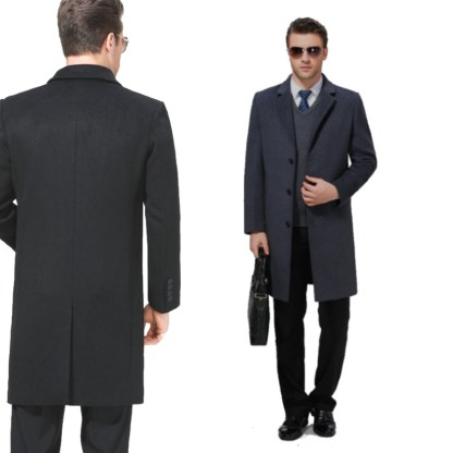 Casual Overcoat available in 2 colors
