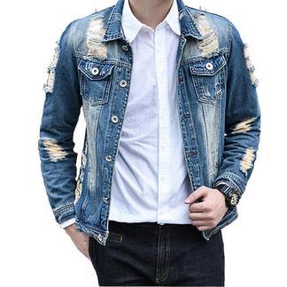 Hole Jeans Jacket