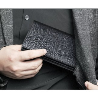 Leather Long Clutch