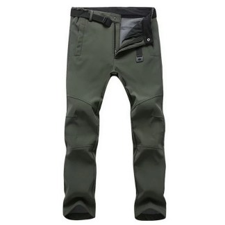 Stretch Waterproof Fleece Pants available in 3 colors