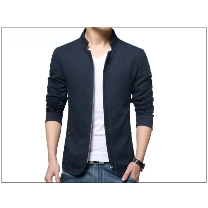 Stand Collar Jacket available in 4 colors