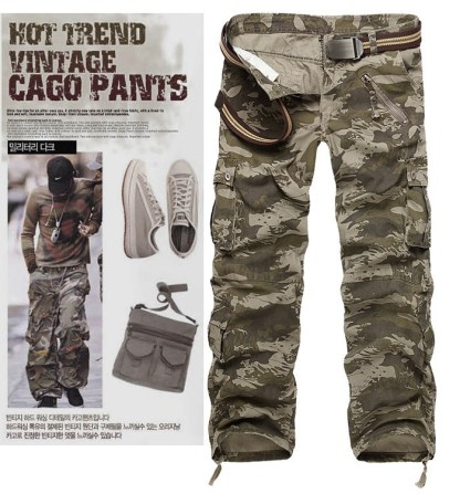 Camouflage Trousers in 7 colors
