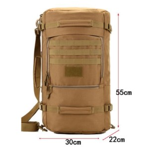 Tactical Travel Backpack available in 3 colors Size
