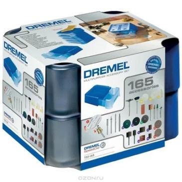 Dremel MAS 722 многофункциональный набор из 165 насадок (26150722JB)