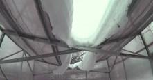 GreenhouseBay.ru М-Теплица зимой