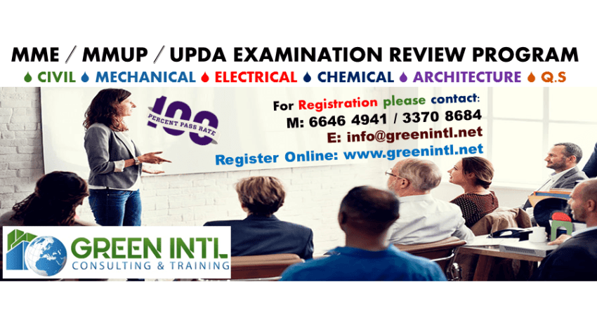 QCDD exam preparation mechanical & Electrical Green