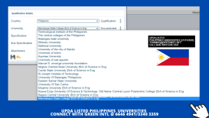 QATAR UPDA/MMUP/MME APPROVED UNIVERSITIES LIST NOV 2020