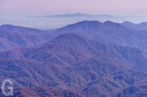 岩手山と八幡平を望む
