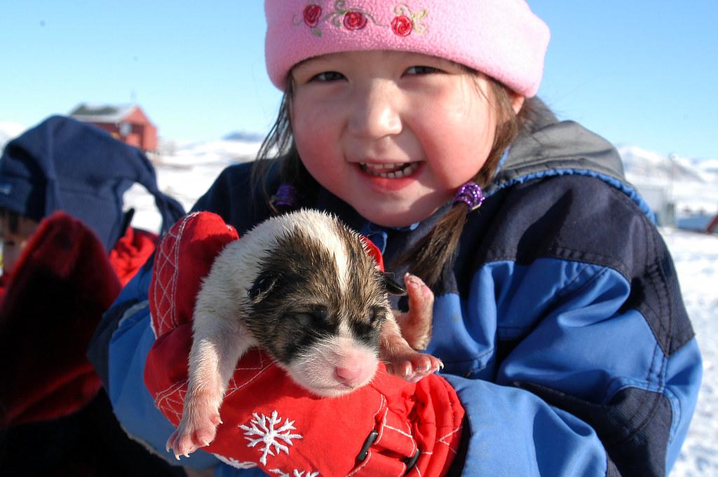 Greenland children