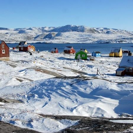 Ice Greenland Oqaatsut Rodebay