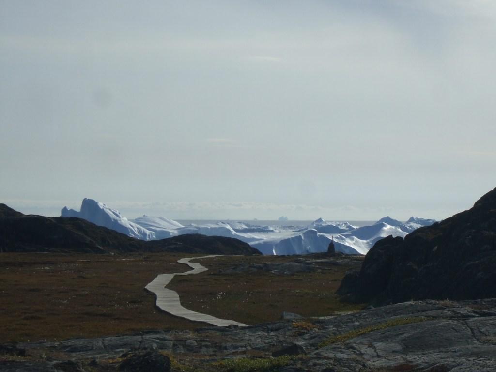 Ilulissat 3 icebergs Groenland